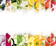 水果和蔬菜混合 免版税库存图片