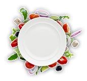 水果和蔬菜 免版税库存照片