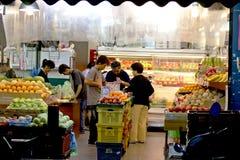 果子产品界面 免版税库存图片