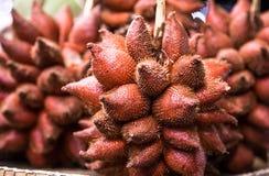 果子传统逆市场在泰国 免版税库存图片