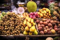 果子传统逆市场在泰国 库存图片