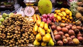 果子传统逆市场在泰国 库存照片