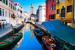 果子停转威尼斯 库存照片