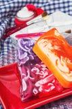 果子可爱的肥皂 免版税图库摄影