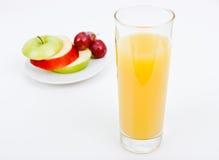 果子和汁液 库存照片