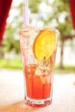 果子和莓果鸡尾酒汁液 免版税图库摄影