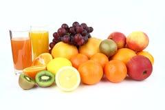 果子和饮料 免版税库存照片