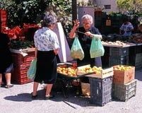 果子和veg失去作用,阿尔沃克斯,西班牙 库存照片