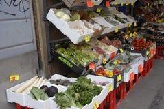 果子和VEGS商店 库存照片
