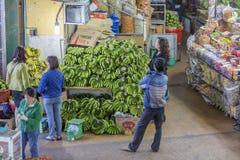果子商店,大叻市市场,越南 免版税库存图片