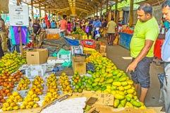 果子在Fose市场上 免版税库存照片