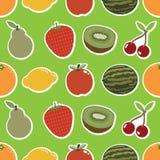 果子墙纸 库存图片