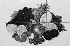 果子墙纸 免版税库存图片