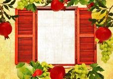果子庭院收获秋天 免版税图库摄影