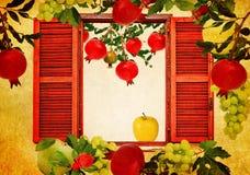 果子庭院收获秋天 库存图片