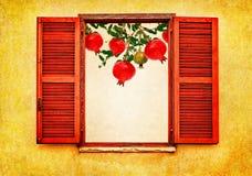 果子庭院收获秋天 库存照片