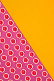 果子柑橘无缝的样式 免版税图库摄影