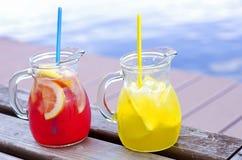 果子柠檬水 免版税库存照片