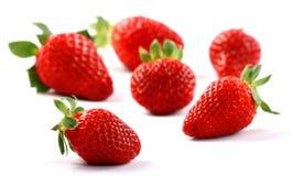 果子查出草莓 库存图片