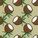 果子样式背景图表椰子 库存照片