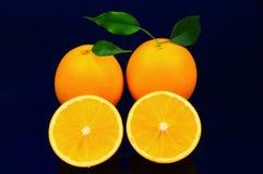 果子桔子。 免版税库存图片