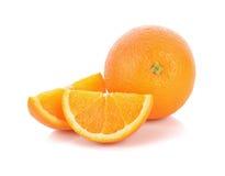 果子桔子片式 库存图片