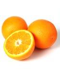 果子橙色成熟 免版税库存照片