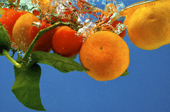 果子水 库存照片