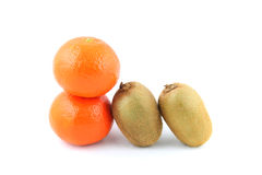 果子猕猴桃橘子 免版税库存图片