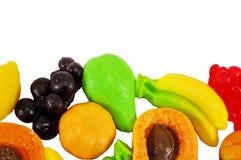以果子的形式颜色jellys 图库摄影