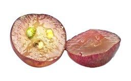 果子葡萄红色 免版税库存照片