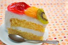 果子蛋糕。 库存图片