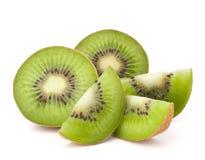 果子被切的猕猴桃细分市场 免版税库存图片