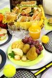 果子野餐 免版税库存图片