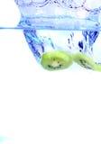 果子飞溅 图库摄影