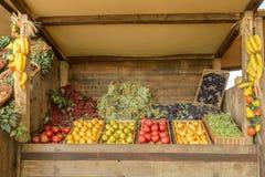 果子食物,商展2015年米兰大模型在Decumano的 图库摄影