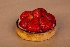 果子馅饼用草莓 免版税图库摄影