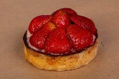 果子馅饼用草莓 图库摄影