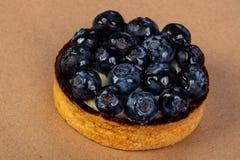 果子馅饼用蓝莓 免版税库存图片