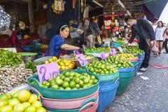 水果市场在曼谷 图库摄影