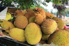 水果摊在斯里兰卡 免版税库存图片