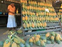 水果摊在斯里兰卡 库存图片