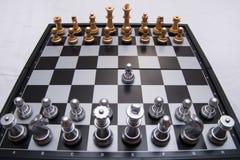果断下棋比赛 免版税库存图片
