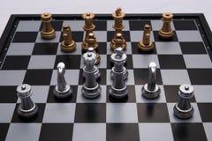 果断下棋比赛 库存图片