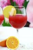 果汁喷趣酒 免版税库存照片