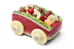 水果沙拉汽车 库存图片
