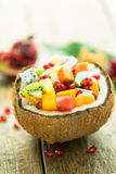 水果沙拉 库存图片