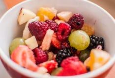 2水果沙拉 免版税图库摄影