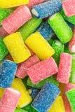 果糖五颜六色的胶粘的糖果 免版税图库摄影