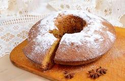 水果蛋糕 免版税库存照片